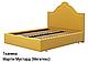 Ліжко двоспальне у м'якій оббивці Сесилія / Кровать двуспальная в мягкой обивке Сесилия, фото 2