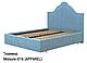 Ліжко двоспальне у м'якій оббивці Сесилія / Кровать двуспальная в мягкой обивке Сесилия, фото 3