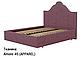 Ліжко двоспальне у м'якій оббивці Сесилія / Кровать двуспальная в мягкой обивке Сесилия, фото 4