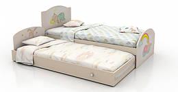 """Детская двухуровневая кровать """"Зайки"""" Вальтер"""