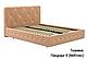 Ліжко двоспальне у м'якій оббивці Хлоя / Кровать двуспальная в мягкой обивке Хлоя, фото 2