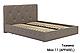 Ліжко двоспальне у м'якій оббивці Хлоя / Кровать двуспальная в мягкой обивке Хлоя, фото 4