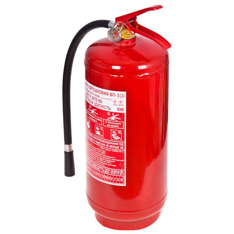 Огнетушитель порошковый с манометром 5кг