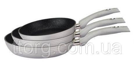 Набор сковородок Royalty Line Silver 3 pcs (RL-FM3M)