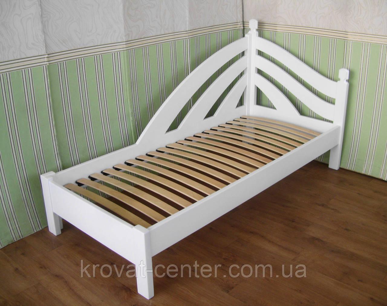 """Детская белая кровать """"Радуга - 2"""""""