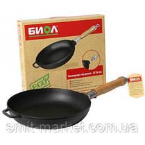 Сковорода чавунна Біол 260мм, фото 2