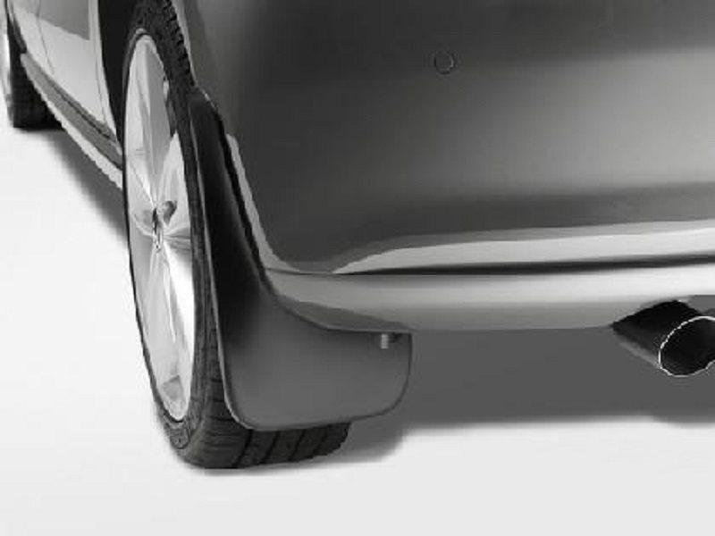 Брызговики задние для Volkswagen Polo HB 2009-2015 укороченные 2шт 6R0075106