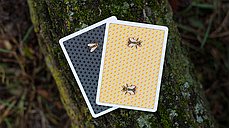 Honeybee V2 Playing Cards (Yellow), фото 2