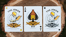 Honeybee V2 Playing Cards (Yellow), фото 3