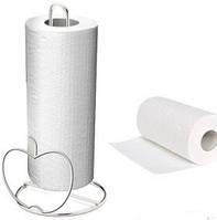 Держатель для бумажных рулонных полотенец настольный Яблоко