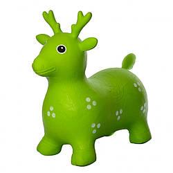 Прыгун-животное олень, зеленый (MS 1441)