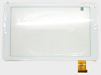 Оригинальный тачскрин / сенсор (сенсорное стекло) для Digma Plane 1700B (белый цвет, Ver.2, самоклейка)