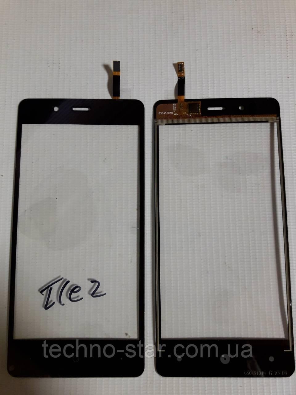 Оригинальный тачскрин / сенсор (сенсорное стекло) для Highscreen Ice 2 (черный цвет) + СКОТЧ В ПОДАРОК