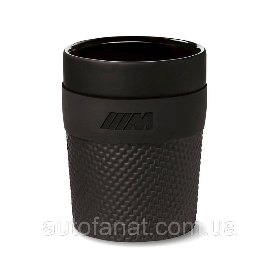 Оригинальная керамическая кружка BMW M Cup, Black (80232454743)