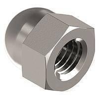 Гайка колпачковая М6 нержавеющая сталь А2 DIN 1587