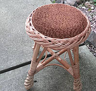 Табурет маленький плетеный, фото 1