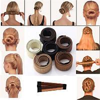 Заколка Хэагами покрытая искусственным волосом, длина 15 см