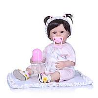Кукла реборн Маша, мягконабивная 45 см, ручная работа Reborn doll