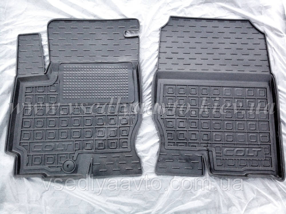 Передние коврики Mitsubishi Colt с 2002- (Avto-Gumm)
