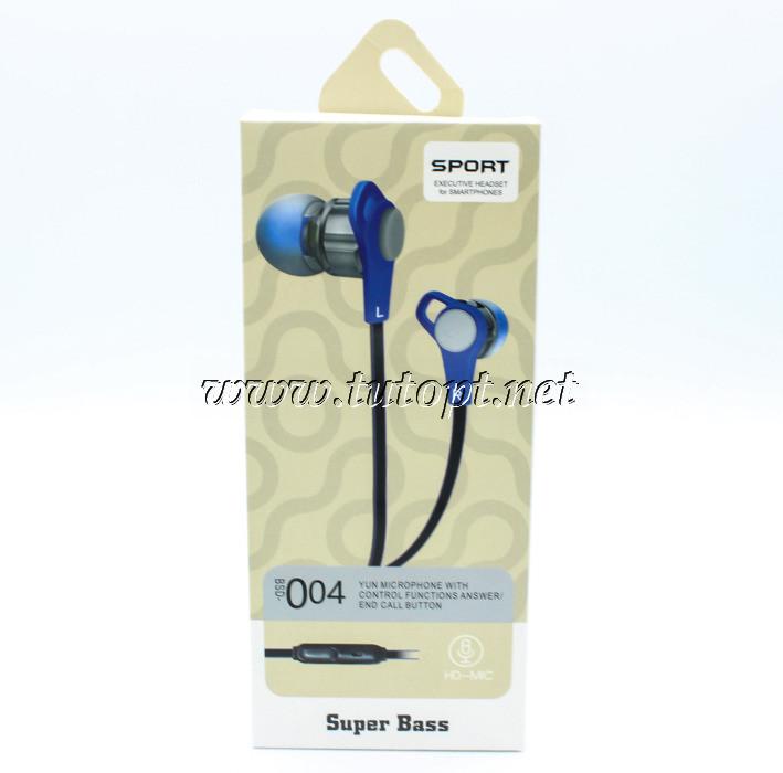 Вакуумные наушники-гарнитура JBL BSD-004 с микрофоном