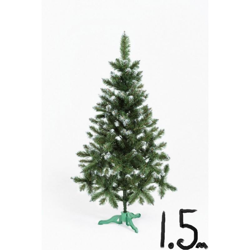 """Искусственная елка """"Лидия"""" с белыми кончиками 1.5м"""