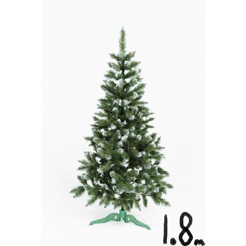 """Искусственная елка """"Лидия"""" с белыми кончиками 1.8м"""