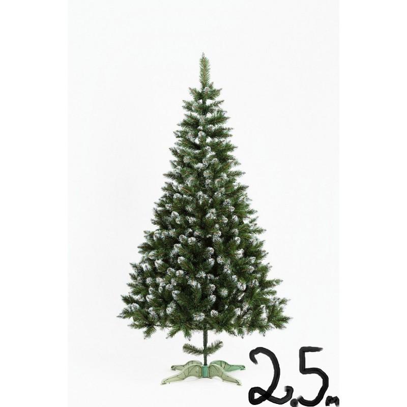 """Искусственная елка """"Лидия"""" с белыми кончиками 2.5м"""