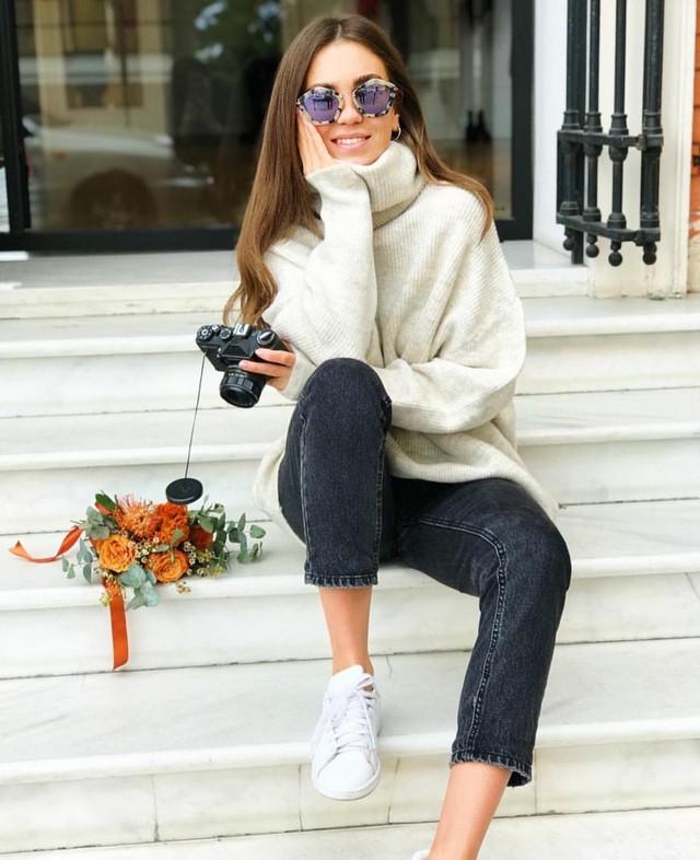 фотография женский свитер