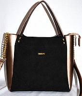 """Женская сумка качественная """"B.Elit"""" замшевая, 059190, фото 1"""