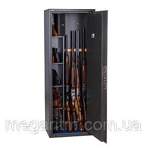 Оружейный сейф Ferocon Е140К.Т1.П3.7022, 1370×500×380 мм, 75 кг, фото 2