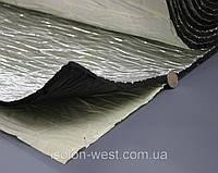 Шумоизоляция для авто с фольгой 13мм каучуковая, Flex-optimal 13 ФК, лист 50х75 см, фото 1
