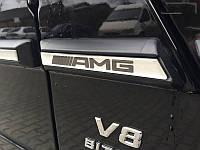 """Вставки в молдинги """"AMG"""" на Mercedes G-class W463 (метал)"""