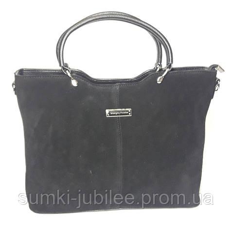 a04535c6e23b Замшевая сумка SHENG MA, черного цвета: продажа, цена в Харькове ...