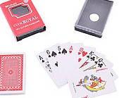 Игральные карты 54 листа пластик