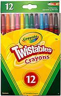 Выкручивающиеся восковые мелки, 12 штук, Crayola