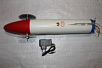 Торпеда ,ракета усиленная с усиленными колесами з ударопрочного пластика на аккумуляторе для запуска сетей