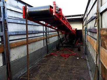 Желобчатые ленточные транспортеры шириной 850 мм.