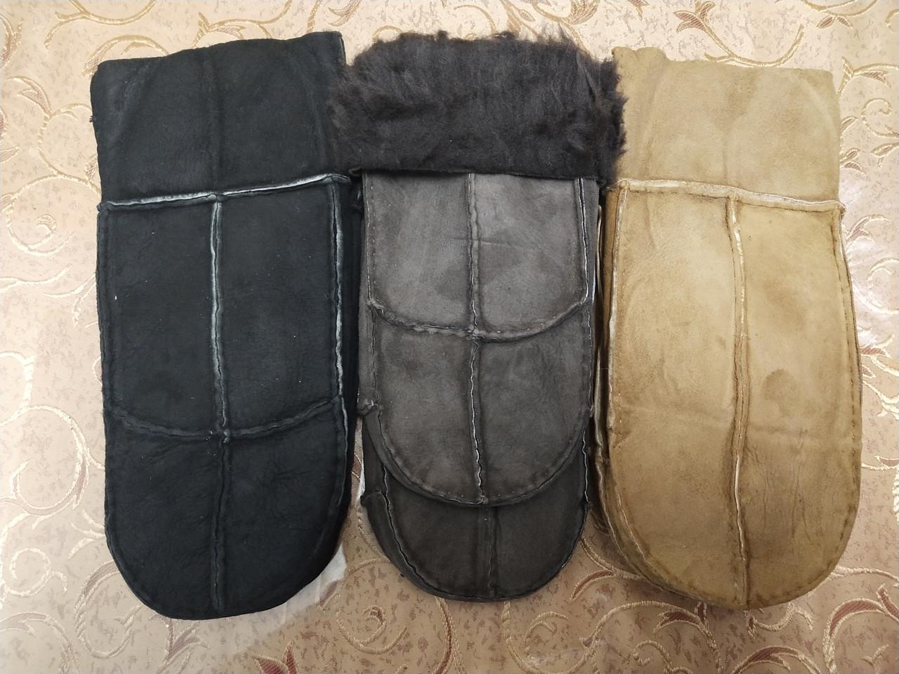 Мужские варежки замш перчатки только оптом