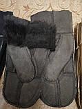 Мужские варежки замш перчатки только оптом, фото 2