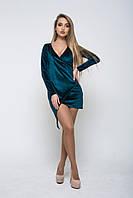 Стильное женское платье из бархата, фото 1