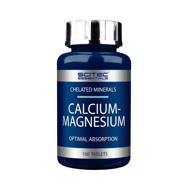 Scitec Nutrition Calcium-Magnesium 100 таб