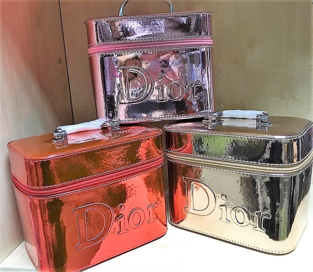 """Сундук-Косметичка """"Dior"""" лак №8156-2 (19*13*15)"""