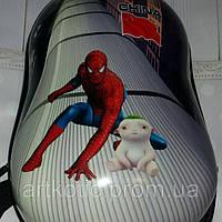 Детский рюкзак с объемным 3Д изображением. Человек Паук, София, Пеппа