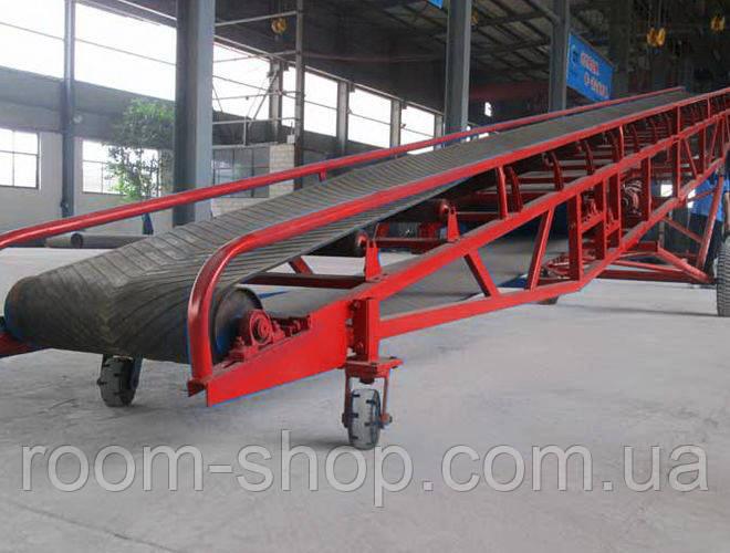 Желобчатые ленточные конвейера (транспортеры) шириной 850 мм. длина 2 м.