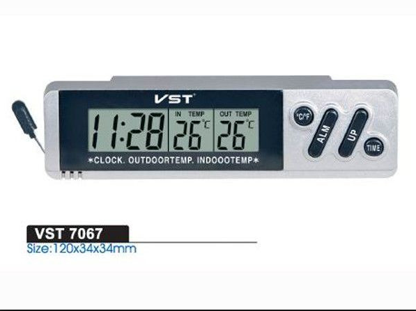 Часы автомобильные VST 7067