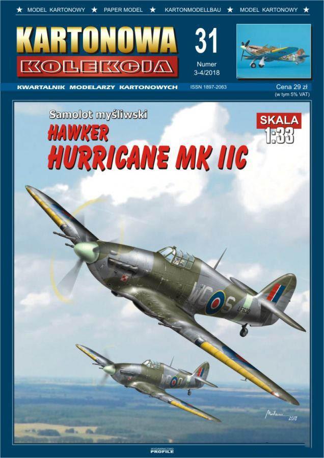 Hawker Hurricane MkIIc 1/33