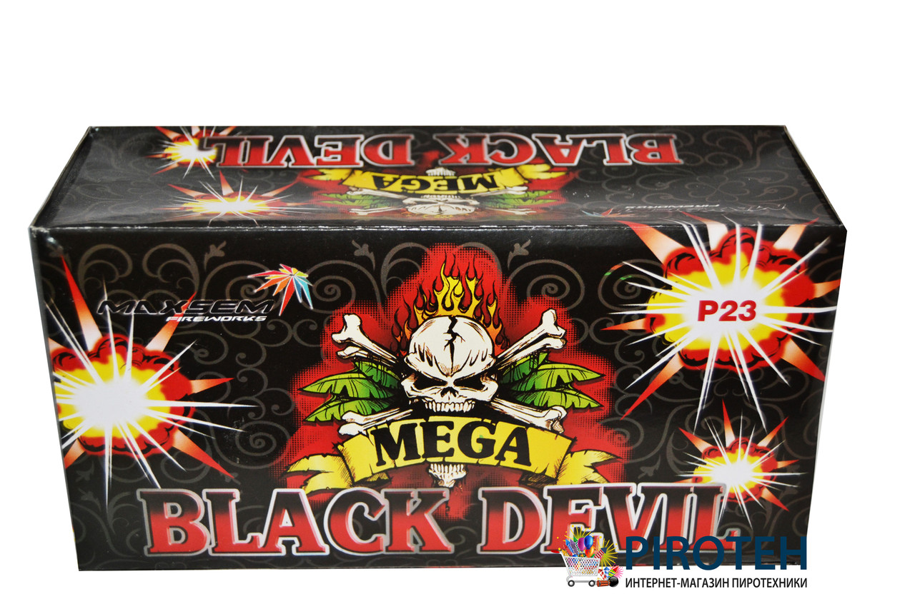2ef044339ab72 Петарды Black Devil (P23) Maxsem - Пиротех - интернет-магазин пиротехники в  Киеве