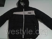 Куртка зимняя мужская Predator - 1147 черно-белая
