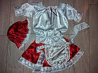 Детский карнавальный костюм КРАСНАЯ ШАПОЧКА для девочки, фото 1