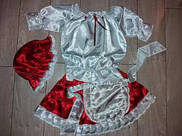 Детский карнавальный костюм КРАСНАЯ ШАПОЧКА для девочки